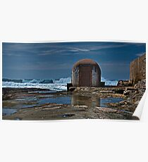Newcastle Ocean Baths, The Pumphouse Poster