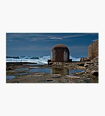 Newcastle Ocean Baths, The Pumphouse Photographic Print
