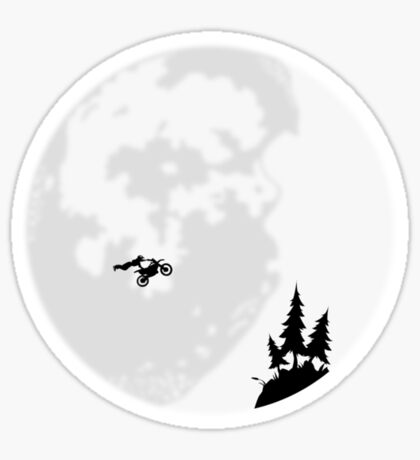 Moon Jump Sticker