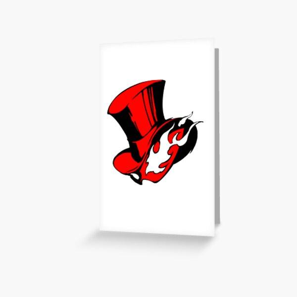 Carte d'appel Persona 5 Royal The Phantom Thieves Carte de vœux