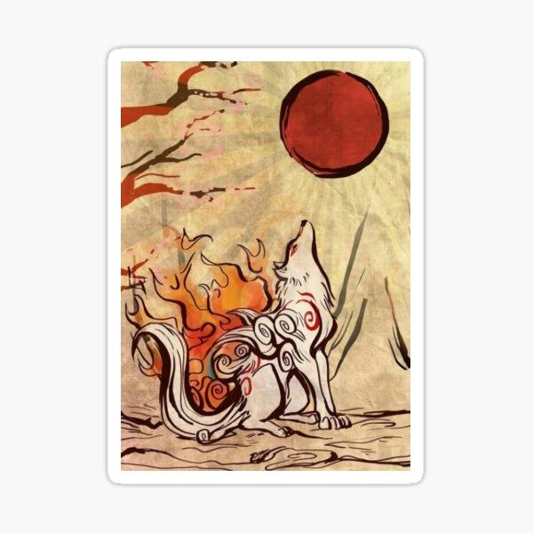 The Sun Goddess Sticker