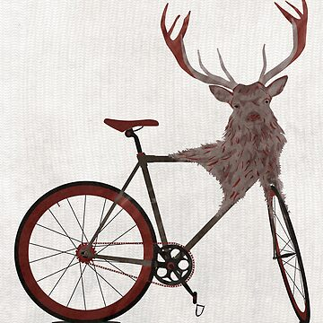 Stag Bike by AndyScullion