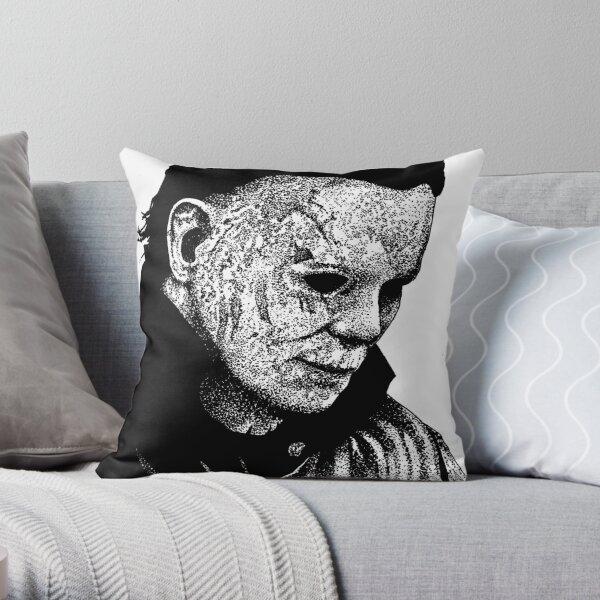 Halloween Micheal Myers Throw Pillow