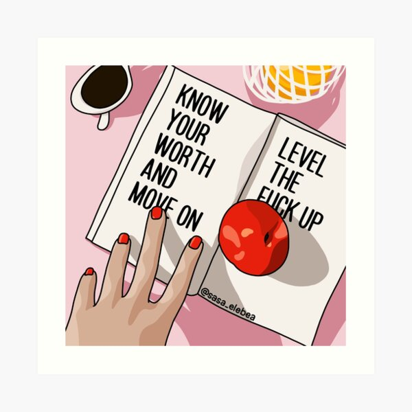 Move on by Sasa Elebea Art Print
