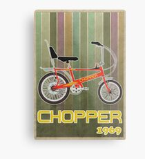 Chopper Bicycle Metal Print
