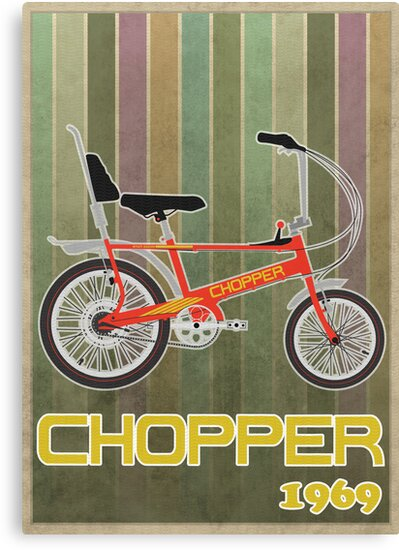 Chopper Bicycle by Andy Scullion
