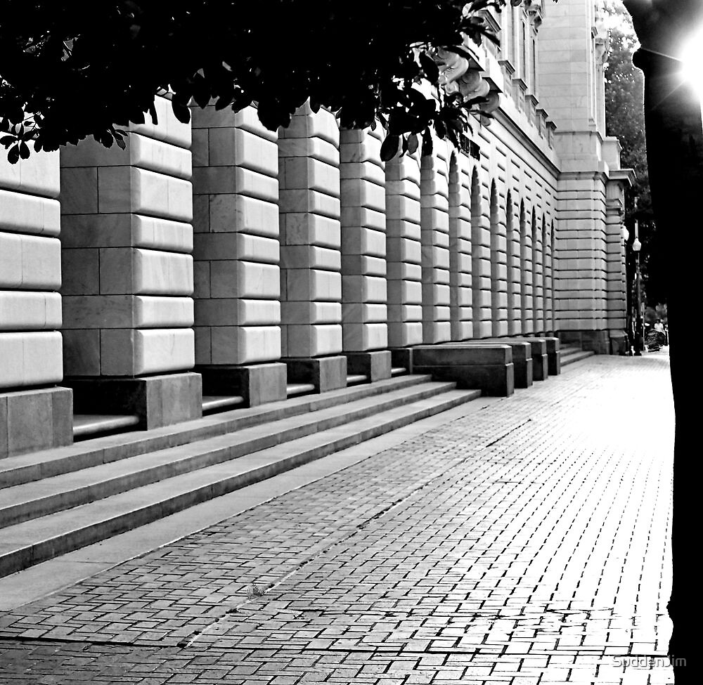 Outside The Courthouse by SuddenJim