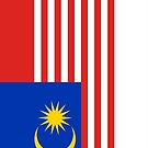 Malaysia Flag by pjwuebker