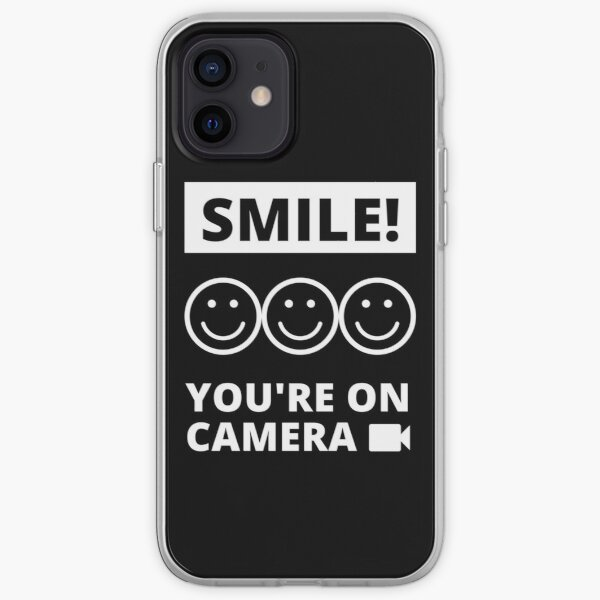 Smile You're On Camera iPhone Soft Case