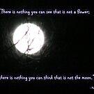 Flower and Moon by Paula Tohline  Calhoun