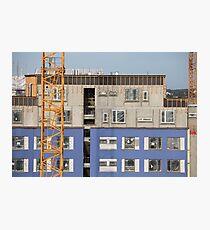 construction site Photographic Print