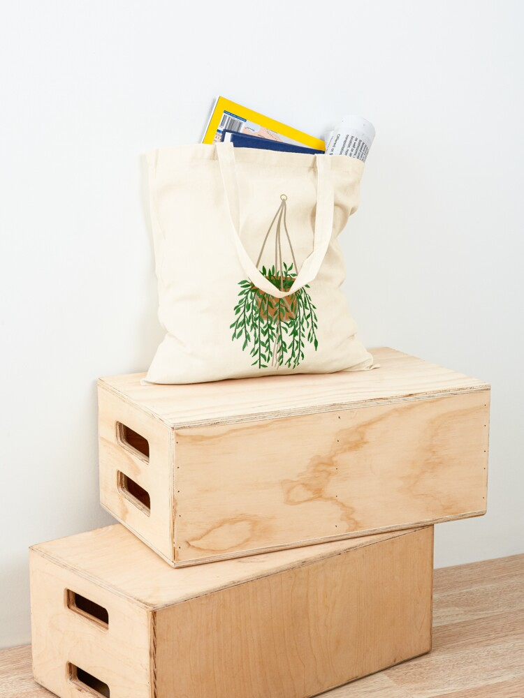 Alternate view of Hanging Plant Tote Bag