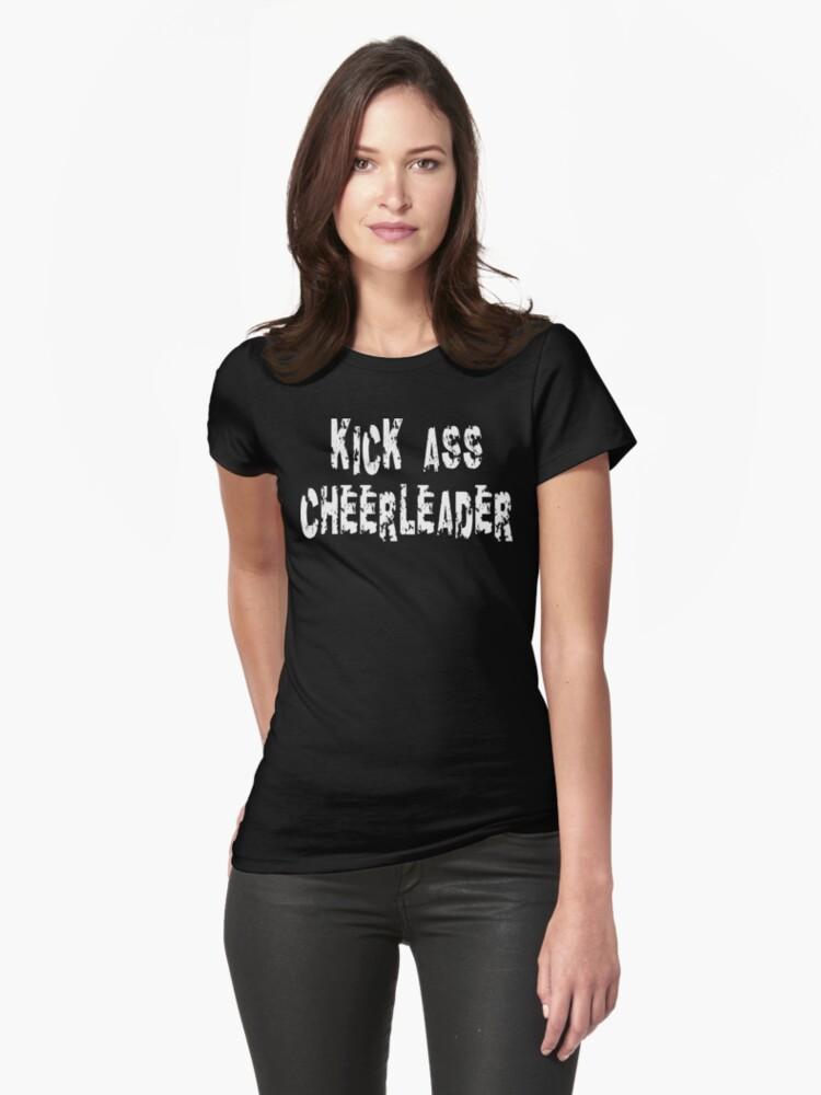 Kick Ass Cheerleader by SportsT-Shirts