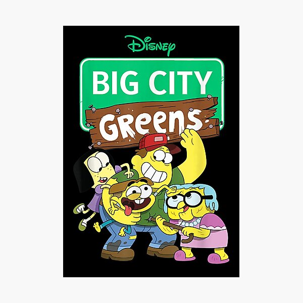 Channel Big City Greens Photographic Print
