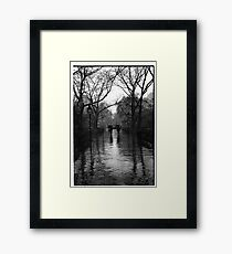 Washington Square Park, Greenwich Village, New York Framed Print