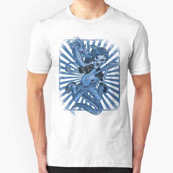 Rock n Roll Destroyer Slim Fit T-Shirt