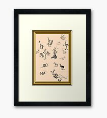 Silly Drawings by a Fool Framed Print