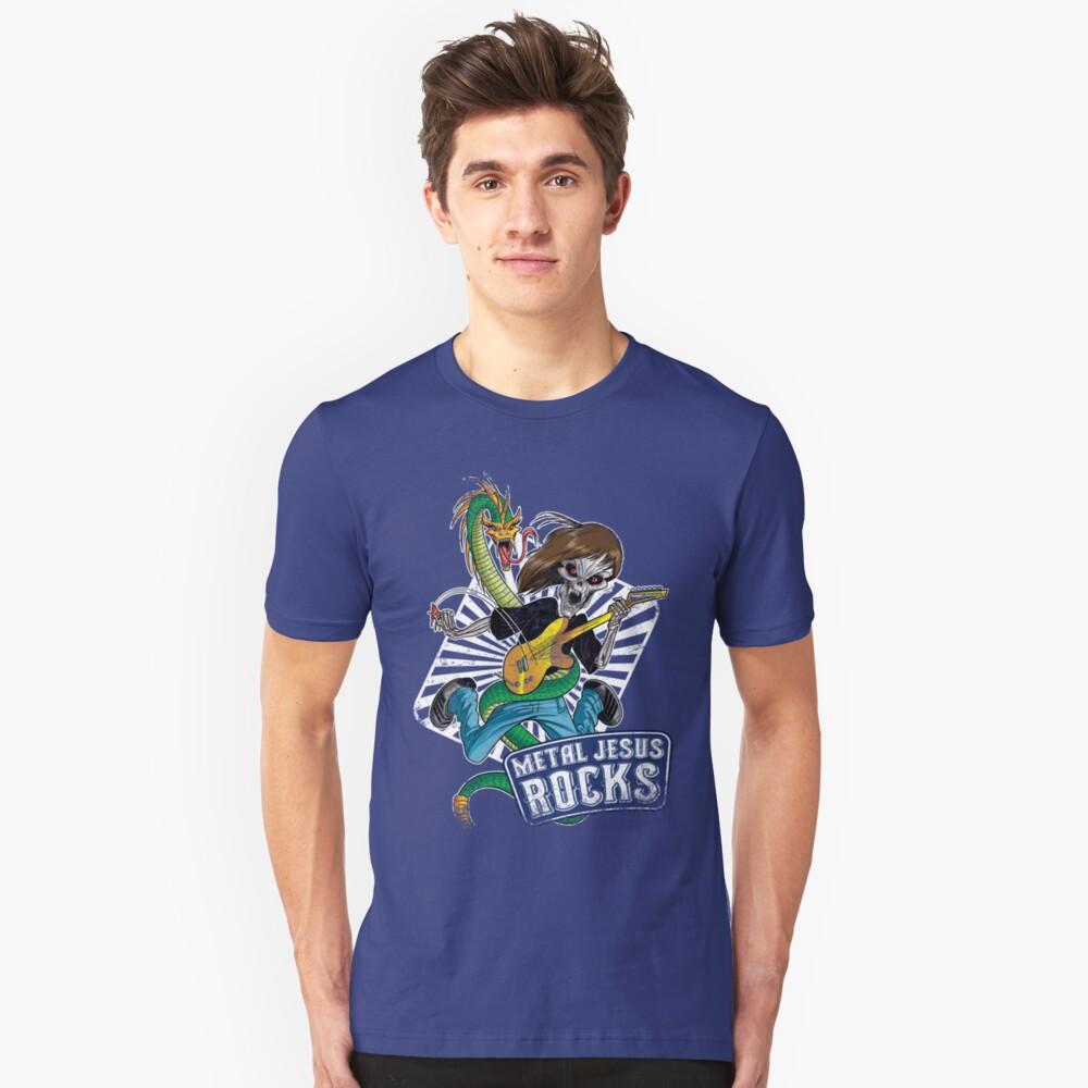 Rock n Roll Destroyer - MJR Unisex T-Shirt Front