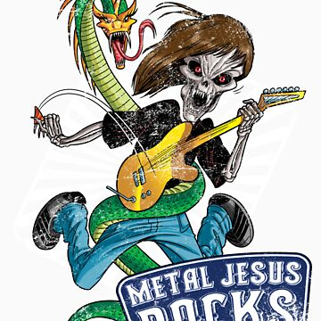Rock n Roll Destroyer - MJR by metaljesusrocks