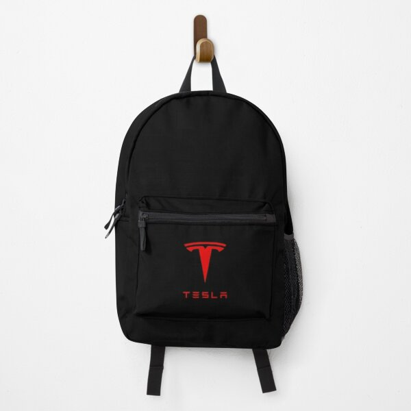 Tesla Red Fan Art Logo Backpack