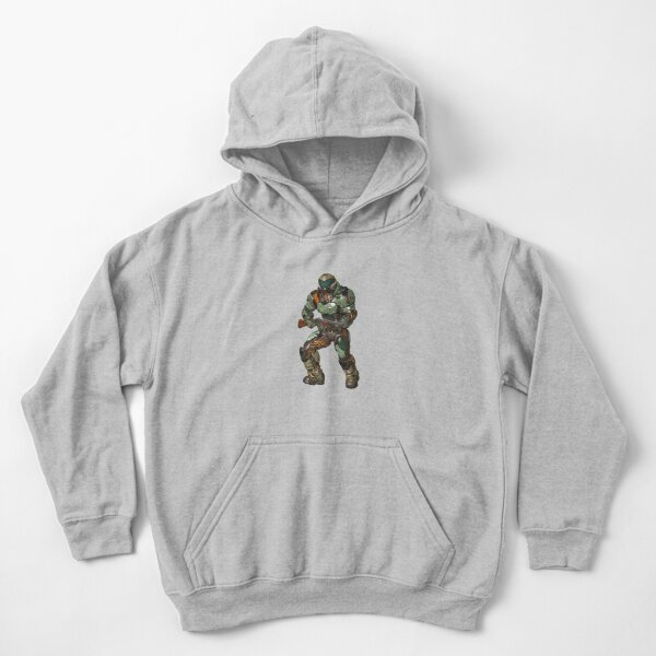 Doom guy, Doom eternal III Kids Pullover Hoodie