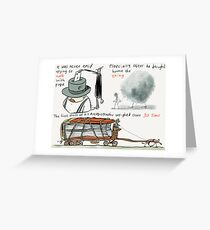 Thirty Tons Greeting Card