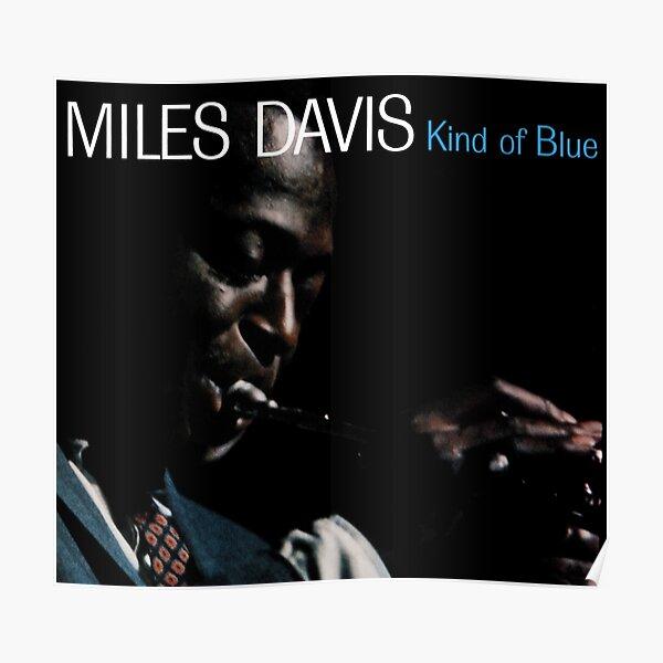 Un peu de bleu - Miles Davis Poster
