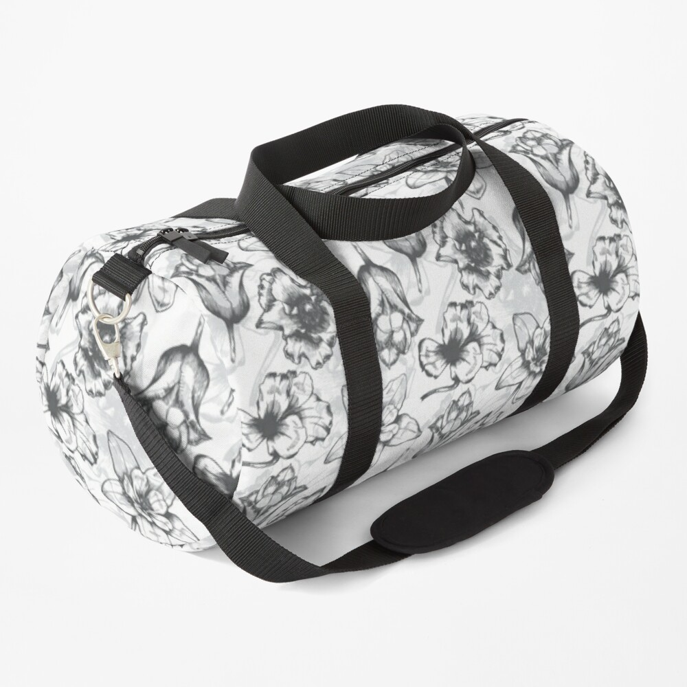 Nature theme on Duffle Bag