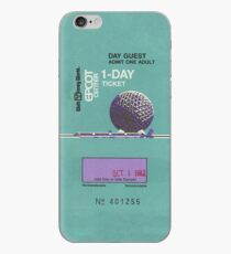Epcot Center Ticket iPhone-Hülle & Cover