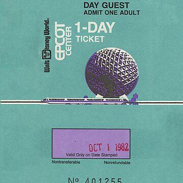 Epcot Center Ticket by CajunsCanCook