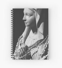 Mother Mary Spiral Notebook