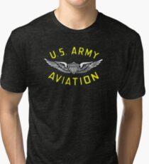 Army Aviation (t-shirt) Tri-blend T-Shirt