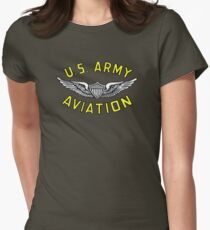 Army Aviation (t-shirt) Women's Fitted T-Shirt
