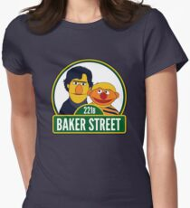 Baker Street Womens Fitted T-Shirt