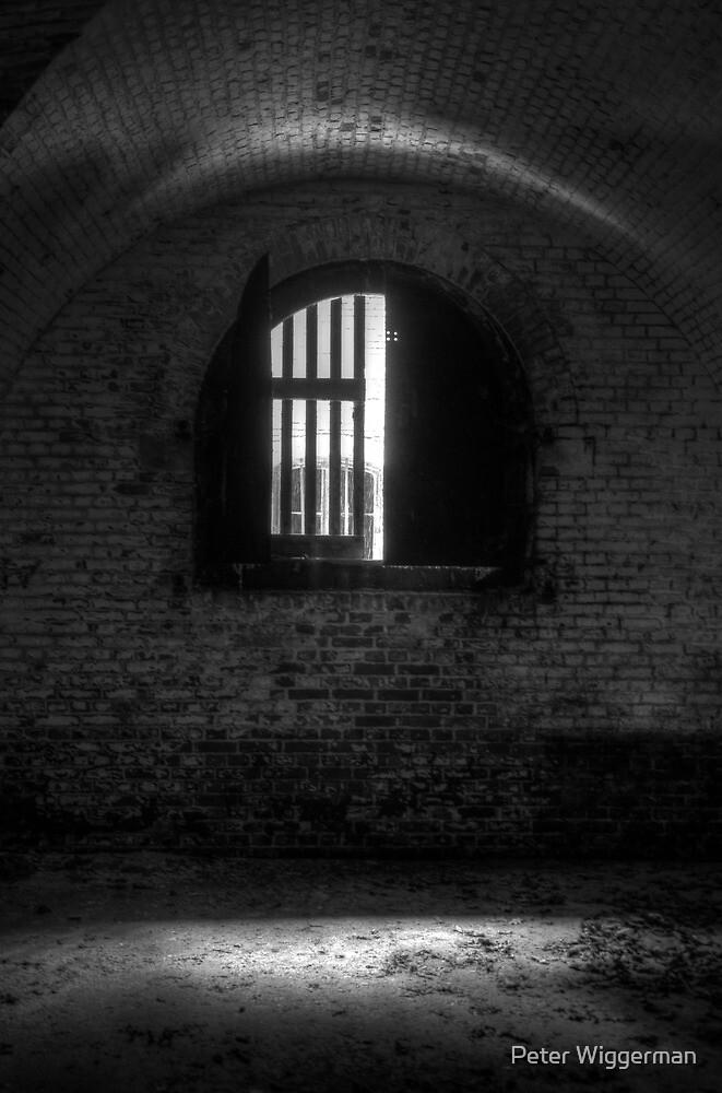 Behind bars by Peter Wiggerman