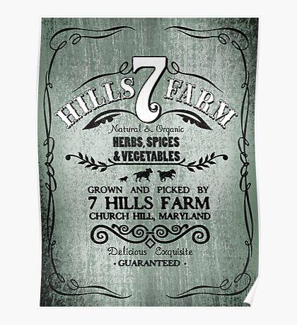 7 HILLS FARM Poster