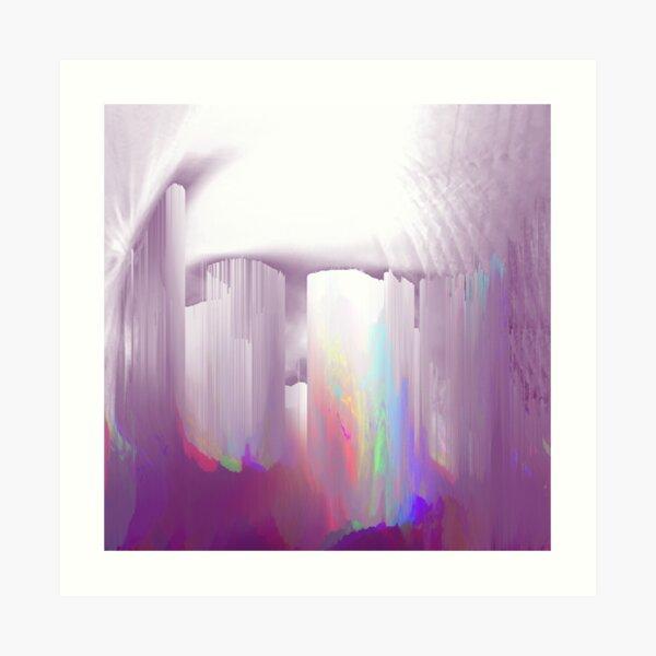 Echo tears Art Print