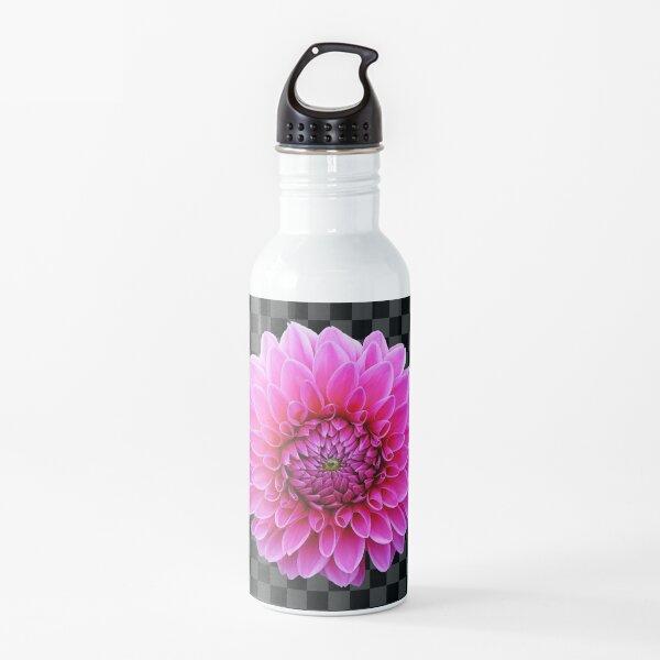 Dahlia checkerboard Water Bottle