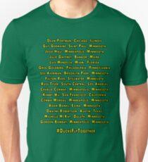 Mighty Ducks D2 Roster Unisex T-Shirt