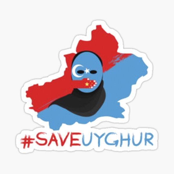 Save uyghur Sticker