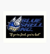 Blue Shell Inc. Art Print