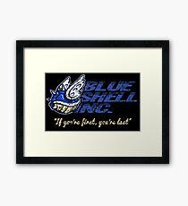 Blue Shell Inc. Framed Print