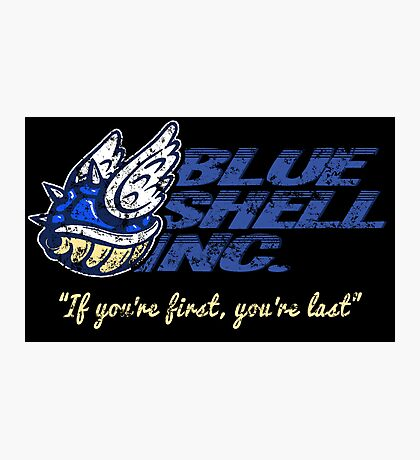 Blue Shell Inc. Photographic Print