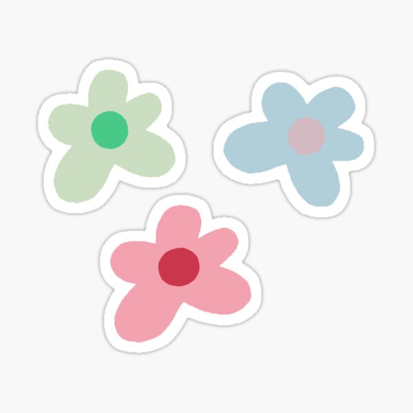 pack d'autocollants golf le fleur Sticker