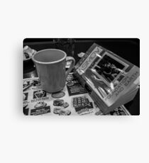 Sci-Fi and Coffee Canvas Print