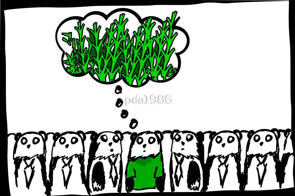 think green - even pandas do it by pda1986