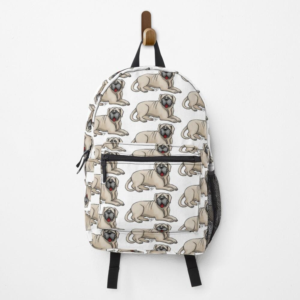 English Bull Mastiff Backpack