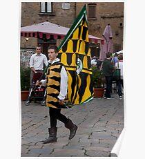 Flag Man Poster