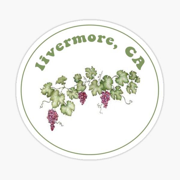 Livermore Grape Sticker Sticker