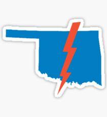 Thunder Up Oklahoma Sticker